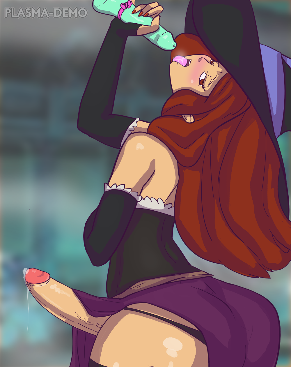 sorceress gif crown hentai dragon's Foxy and mangle have sex