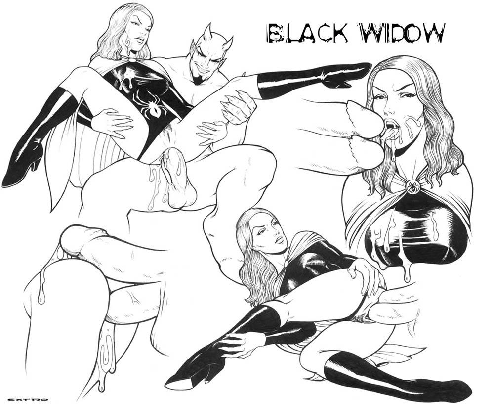 naked avengers widow black the from Cum on!bukkake ranch!