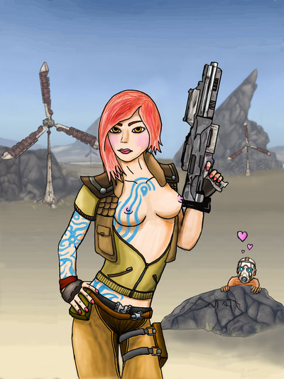 ellie borderlands 2 In another world with my smartphone francesca