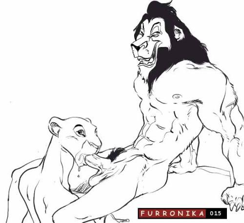 sarafina the lion from king Jab there goes the neighborhood
