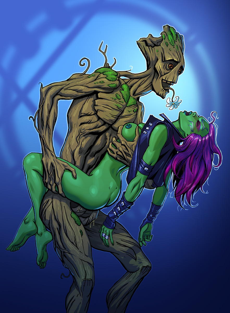 galaxy gamora guardians of hentai the Wow druid of the fang